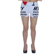 Eng Spr Sp Love Skinny Shorts