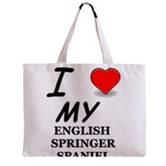 Eng Spr Sp Love Zipper Mini Tote Bag