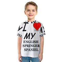 Eng Spr Sp Love Kids  Sport Mesh Tee