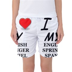 Eng Spr Sp Love Women s Basketball Shorts