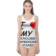 Eng Spr Sp Love One Piece Swimsuit