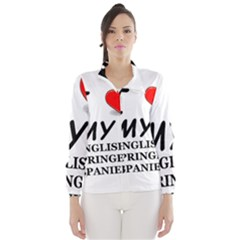 Eng Spr Sp Love Wind Breaker (Women)