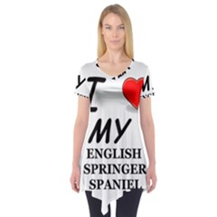 Eng Spr Sp Love Short Sleeve Tunic