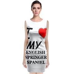 Eng Spr Sp Love Classic Sleeveless Midi Dress