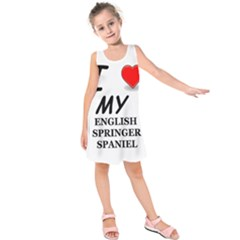 Eng Spr Sp Love Kids  Sleeveless Dress