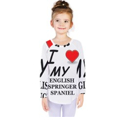 Eng Spr Sp Love Kids  Long Sleeve Tee