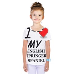 Eng Spr Sp Love Kids  One Piece Tee