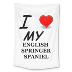 Eng Spr Sp Love Large Tapestry