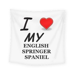 Eng Spr Sp Love Square Tapestry (Small)