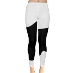English Springer Spaniel Silo Black Leggings