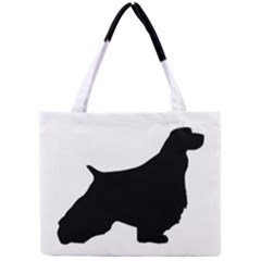 English Springer Spaniel Silo Black Mini Tote Bag