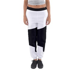English Springer Spaniel Silo Black Women s Jogger Sweatpants