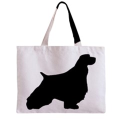English Springer Spaniel Silo Black Zipper Mini Tote Bag