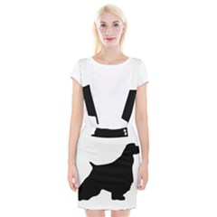 English Springer Spaniel Silo Black Suspender Skirt