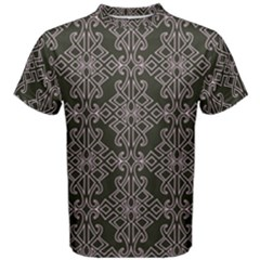 Line Geometry Pattern Geometric Men s Cotton Tee