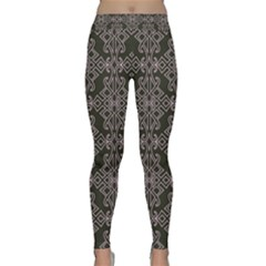Line Geometry Pattern Geometric Classic Yoga Leggings