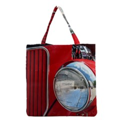 Antique Car Auto Roadster Old Grocery Tote Bag