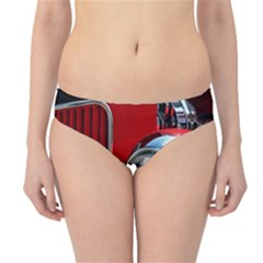 Antique Car Auto Roadster Old Hipster Bikini Bottoms