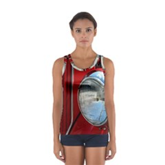Antique Car Auto Roadster Old Women s Sport Tank Top