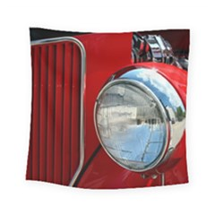 Antique Car Auto Roadster Old Square Tapestry (small)