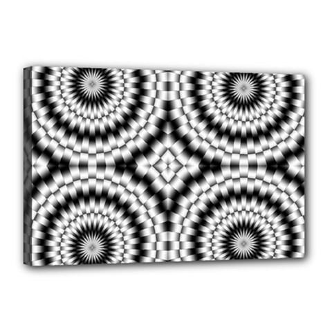 Pattern Tile Seamless Design Canvas 18  x 12
