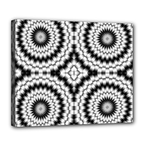 Pattern Tile Seamless Design Deluxe Canvas 24  x 20