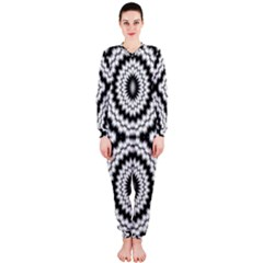 Pattern Tile Seamless Design OnePiece Jumpsuit (Ladies)
