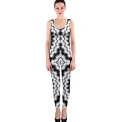 Pattern Tile Seamless Design Onepiece Catsuit