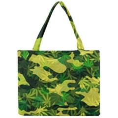 Marijuana Camouflage Cannabis Drug Mini Tote Bag