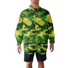 Marijuana Camouflage Cannabis Drug Wind Breaker (Kids)