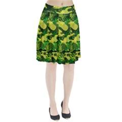 Marijuana Camouflage Cannabis Drug Pleated Skirt