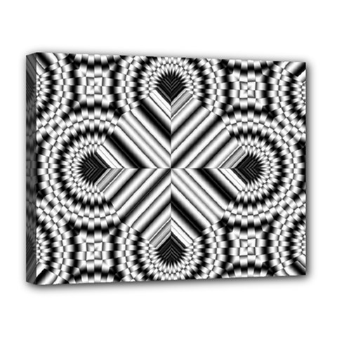 Pattern Tile Seamless Design Canvas 14  X 11