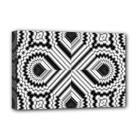 Pattern Tile Seamless Design Deluxe Canvas 18  x 12