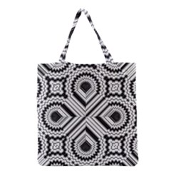 Pattern Tile Seamless Design Grocery Tote Bag