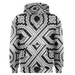 Pattern Tile Seamless Design Men s Pullover Hoodie