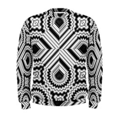 Pattern Tile Seamless Design Men s Sweatshirt