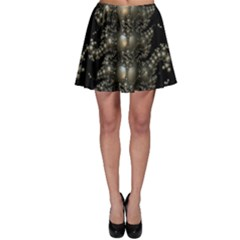 Fractal Math Geometry Backdrop Skater Skirt