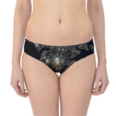 Fractal Math Geometry Backdrop Hipster Bikini Bottoms