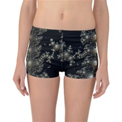 Fractal Math Geometry Backdrop Reversible Bikini Bottoms