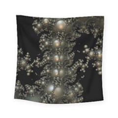 Fractal Math Geometry Backdrop Square Tapestry (small)