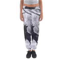 Stag Deer Forest Winter Christmas Women s Jogger Sweatpants