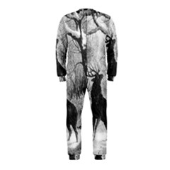 Stag Deer Forest Winter Christmas Onepiece Jumpsuit (kids)
