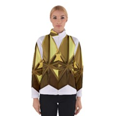 Stars Gold Color Transparency Winterwear