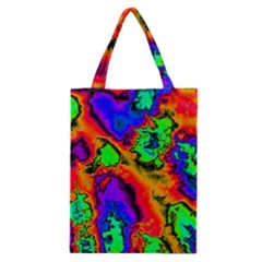 Hot Fractal Statement Classic Tote Bag