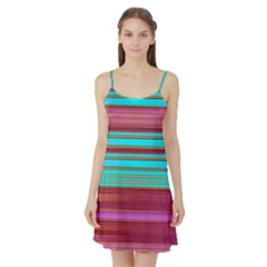 Dress With Azurs Stripes  Apparel Arp Annabellerockz 22 Satin Night Slip