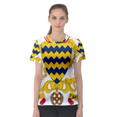 Coat of Arms of Chad Women s Sport Mesh Tee