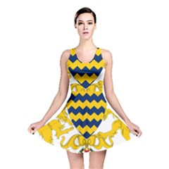 Coat of Arms of Chad Reversible Skater Dress