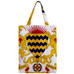 Coat of Arms of Chad Zipper Classic Tote Bag