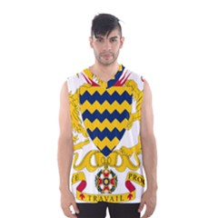 Coat of Arms of Chad Men s Basketball Tank Top