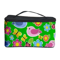 Spring pattern - green Cosmetic Storage Case